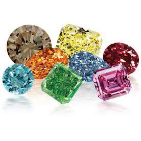 gia a fancy colored hues diamonds diamond accompanied color certified and consist by report natural are all colors of