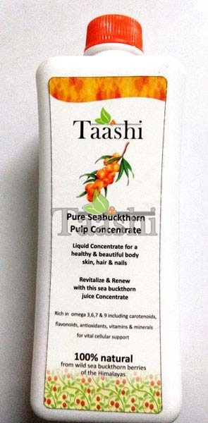 Taashi Pure Seabuckthorn Pulp Concentrate
