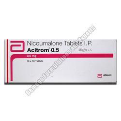 Acitrom 0.5mg Tablets