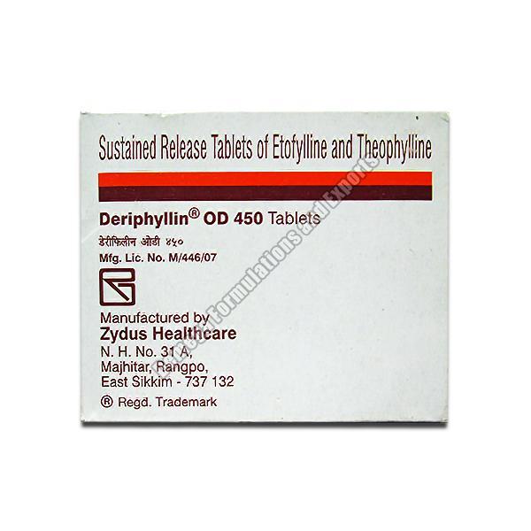 Deriphyllin Od Tablets