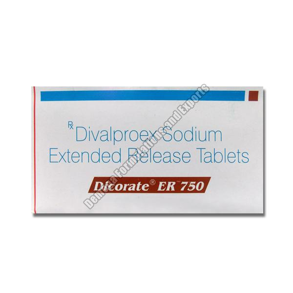 Dicorate ER 750mg Tablets