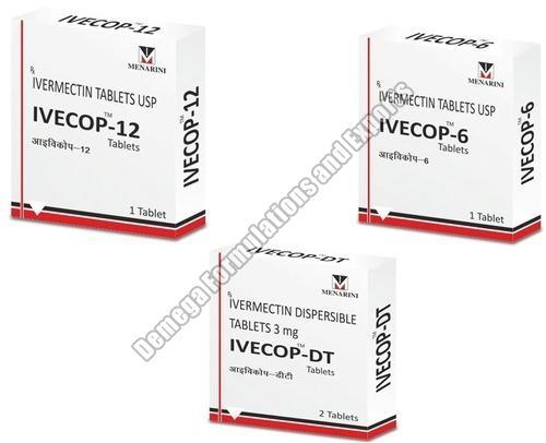 Ivecop DT 3mg Tablets