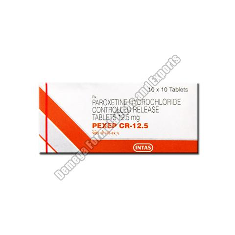 Pexep CR 12.5mg Tablets