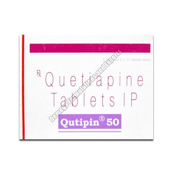 Qutipin 50mg Tablets