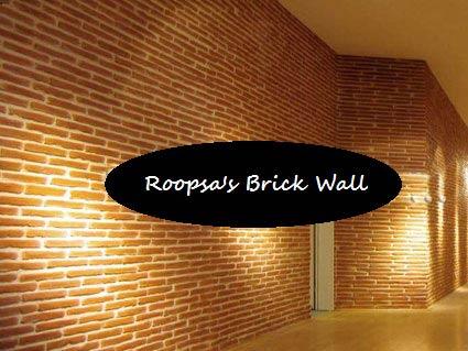 Brick Wall (Roopsa FW001)