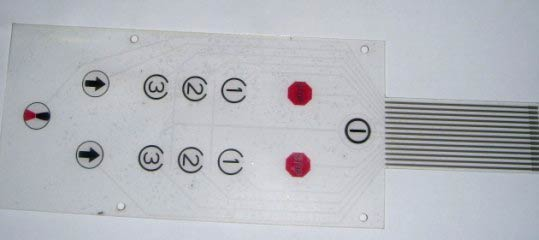Capacitive Touch Keys