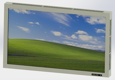 Rugged Large Size Ultra High Resolution Display  (LDX1920.1080_320_300_B600)
