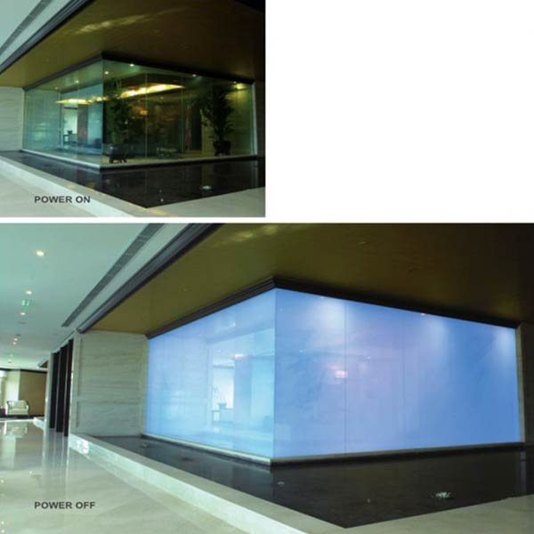 Switchable PDLC Glass