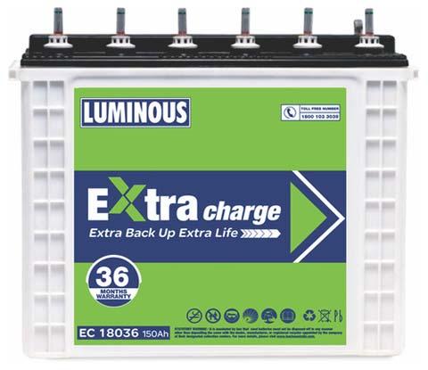 Luminous Inverter Battery (EC 18036)
