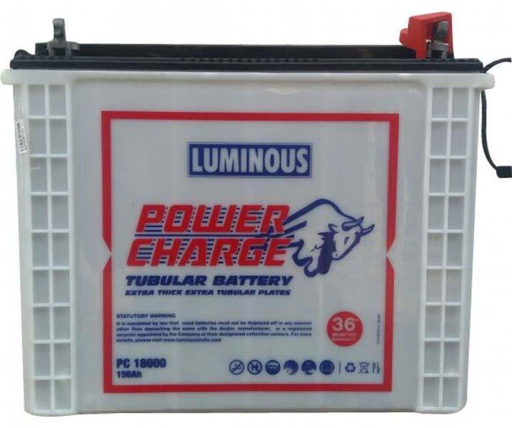 Luminous Power Charge Tubular Battery