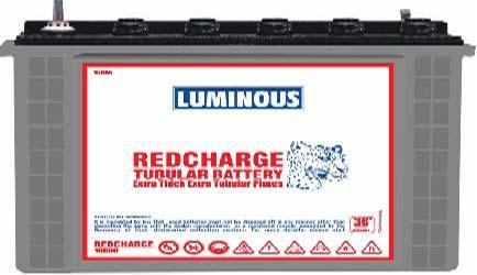 Luminous Red Charge Tubular Battery