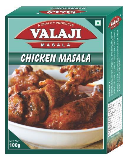 Valaji Masala Chicken Masala
