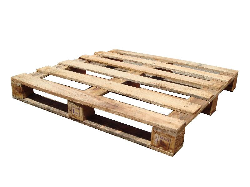 Double Square Rubber Wood Pallets