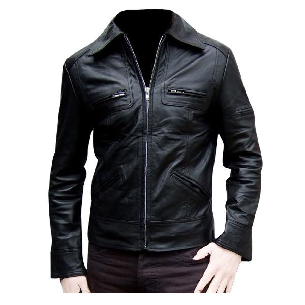 Leather Mens Jaket 01