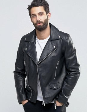 Leather Mens Jaket 02