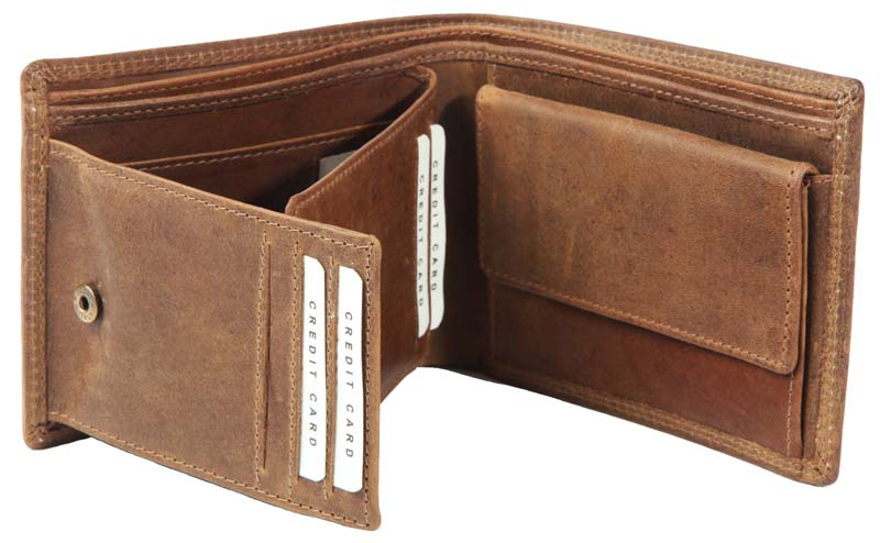Leather Mens Wallet 01