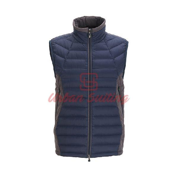 Padded Gilet in Water Repellent Technical Fabric