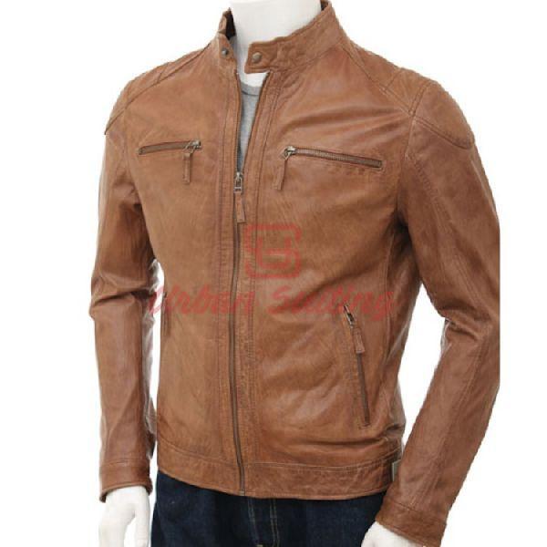 Sheep Fashion Leather Jacket