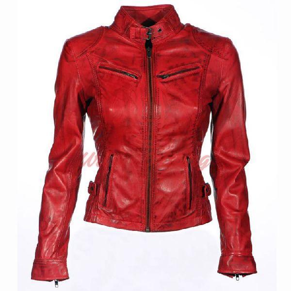 Angelina Leather Jacket
