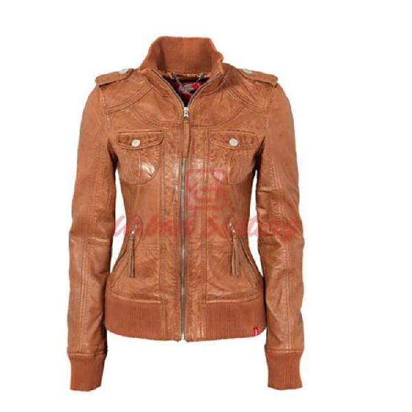 SK5 Summer Leather Jacket