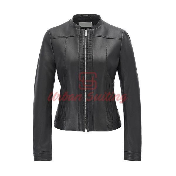 Regular Fit Jacket in Nappa Lambskin