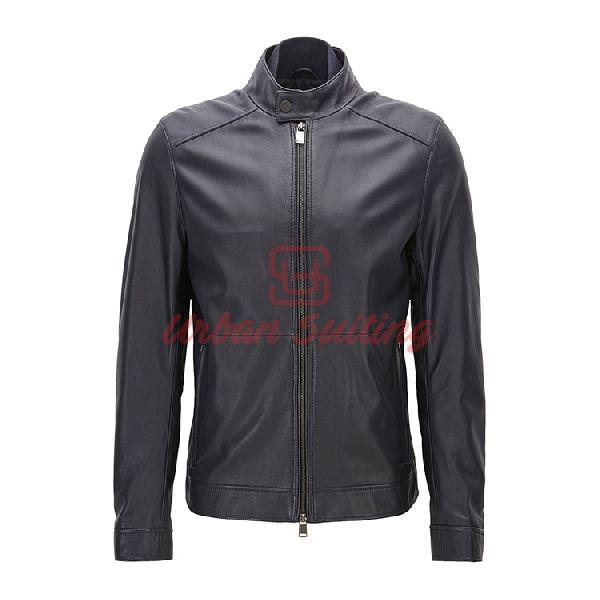Regular Fit Jacket in Lambskin Nappa Leather