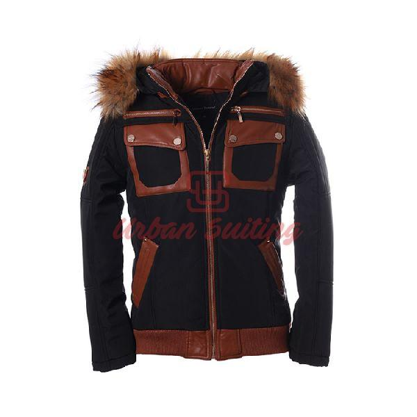 Short Winter Black Jacket