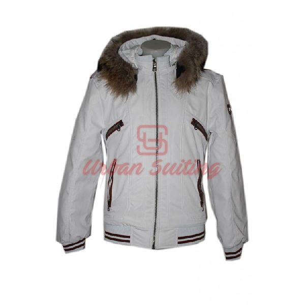 White Baseball Jacket