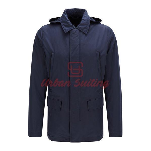 Regular Fit Jacket in Technical Detachable Hood
