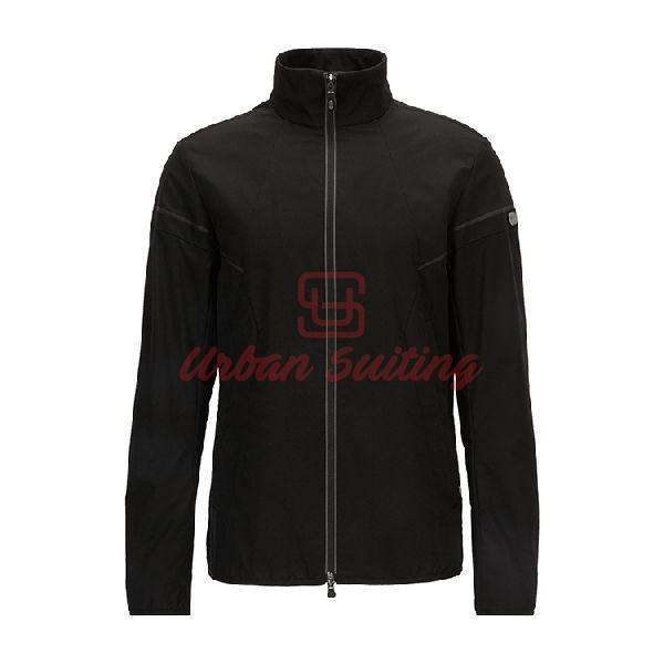 Regular Fit Jacket in Water Repellent Fabric
