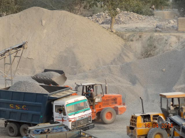 Stone Grit Crushing Services