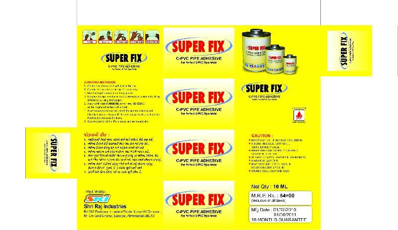 CPVC Adhesives