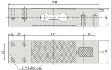 Load Cell (CZL-646B) Graph Image
