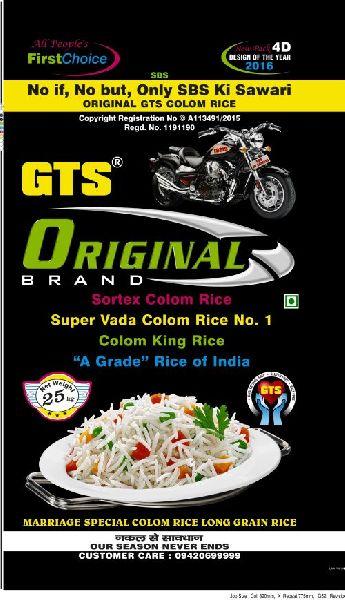 25 Kg GTS Original Colom Rice 02