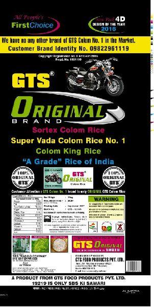 25 Kg GTS Original Colom Rice 03