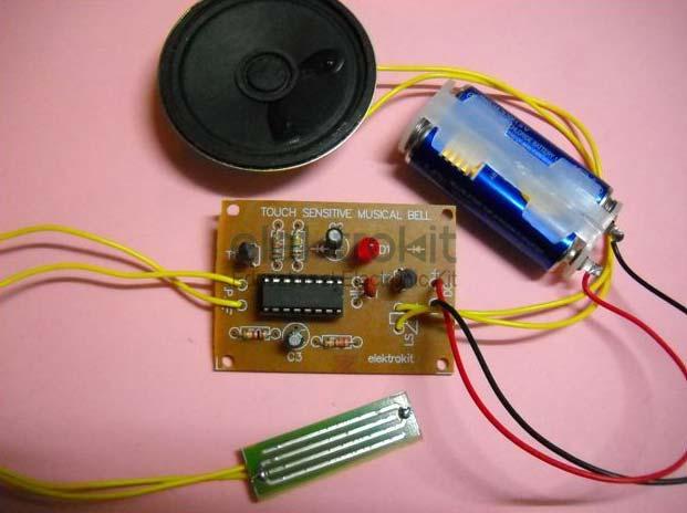 sound effect kit,16 tune musical door bell,melody generator suppliertouch sensitive musical bell