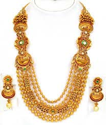 Long Haram Step Jewellery Set