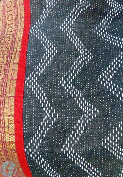 Kantha Handmade Cotton Bed Sheets