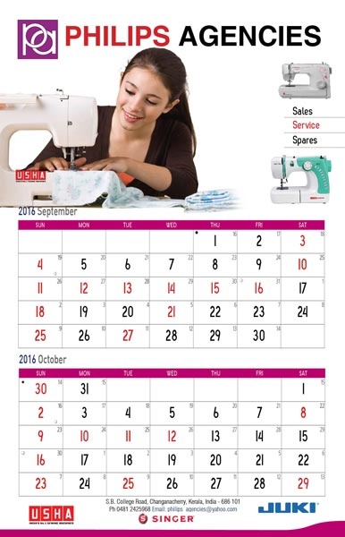 Table Top Calendar Designing & Printing