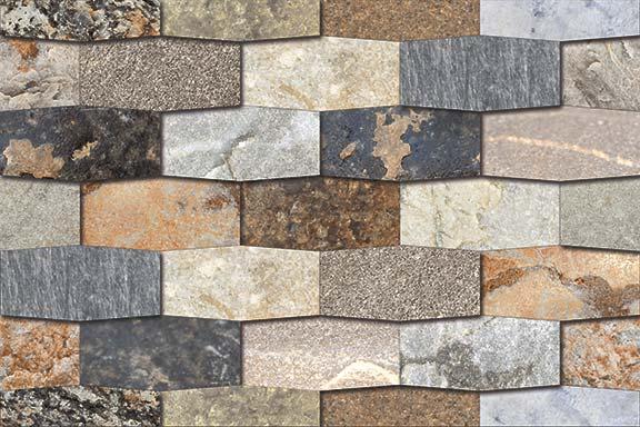 Natural Stone Elevation Tiles : Elevation series digital wall tiles