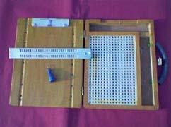 Arithmetic Braille Writing Slate