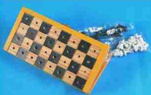 Folding Chess Board for Blind