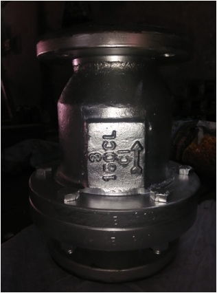 Rubber Lined Flap Type Check Valve