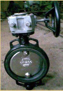 Rubber Lined Wafer Type Butterfly Valve 02