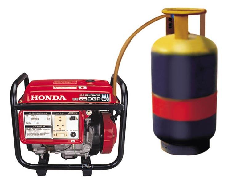 Honda Lpg Generator Eb 650gp Honda Eb 650 Gp Generator Supplier Gujarat