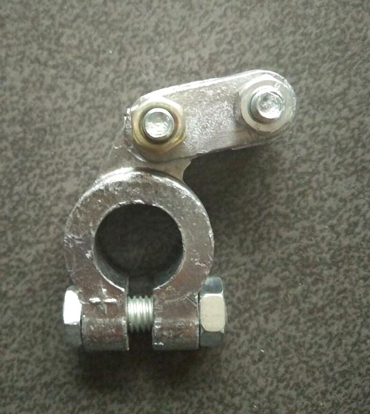 Aluminium Battery Terminal Clamp 02