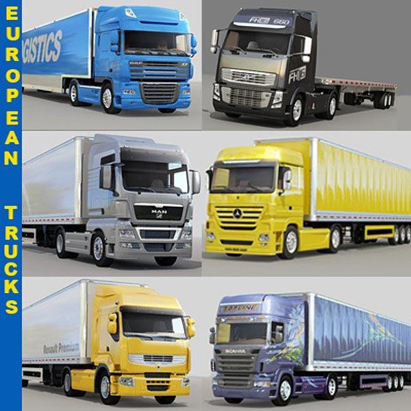 European Truck Spare Parts