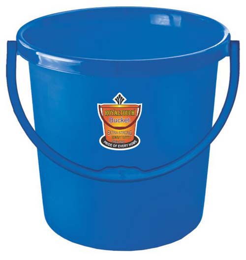 20 Rose Plastic Frosty Bucket