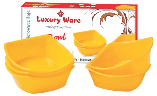 Microwavable Plastic Bowl Set 06