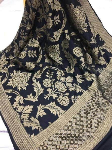 Banaras Pure Silk Dupatta 01